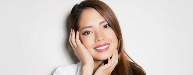 Smiling Asian Woman Profile