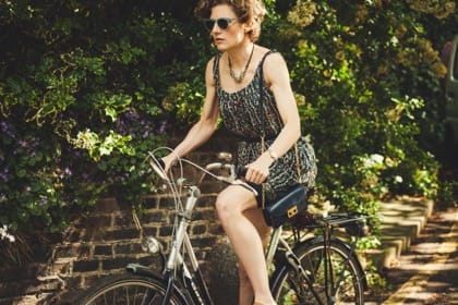Woman Cycling Exercise, Erectile Dysfunction