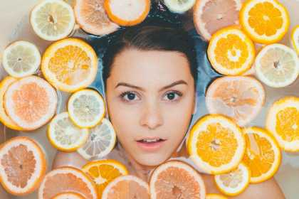 Woman Oranges Face, have your confidence back